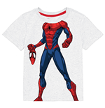 Spider-Man Youth Boys White Costume T-Shirt