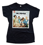 One Direction Ladies Tee: Up All Night (Skinny Fit)