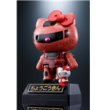 Zaku Ii Char Hello Kitty Chogokin Figure