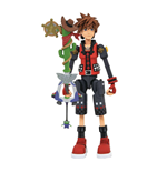 Kingdom Hearts 3 Select Action Figure Valor Form Toy Story Sora 18 cm