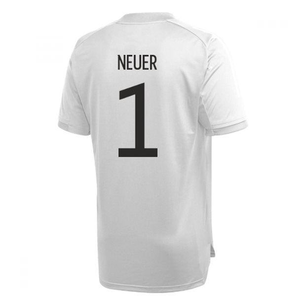 2020-2021 Germany Adidas Training Shirt (Grey) (NEUER 1)
