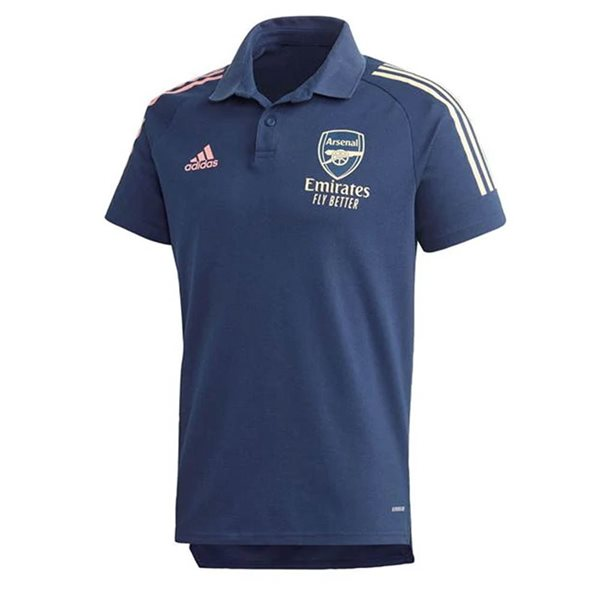 2020-2021 Arsenal Adidas Polo Shirt (Indigo)