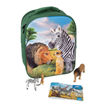 ANIMAL PLANET Mojo Wildlife 3D Backpack Playset , Unisex, Three Years and Above, Multi-colour