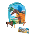 ANIMAL PLANET Mojo Farmland 3D Backpack Playset , Unisex, Three Years and Above, Multi-colour