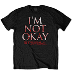 My Chemical Romance Unisex Tee: I'm Not Okay