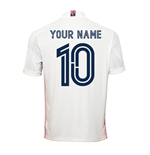 2020-2021 Real Madrid Adidas Home Football Shirt (Your Name)