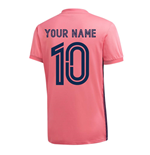 2020-2021 Real Madrid Adidas Away Football Shirt (Your Name)