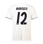 2018-19 Real Madrid Home Football Shirt (Marcelo 12)