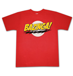 The BIG BANG THEORY Bazinga Logo Sheldon T-Shirt