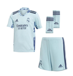 2020-2021 Real Madrid Adidas Home Goalkeeper Full Kit (Kids)