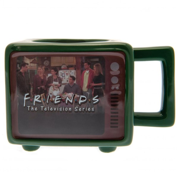 Friends Retro TV Heat Changing 3D Mug