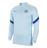 2020-2021 Chelsea Nike Drill Training Top (Light Blue)