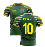 2020-2021 South Africa Springboks Home Concept Rugby Shirt (Pollard 10)