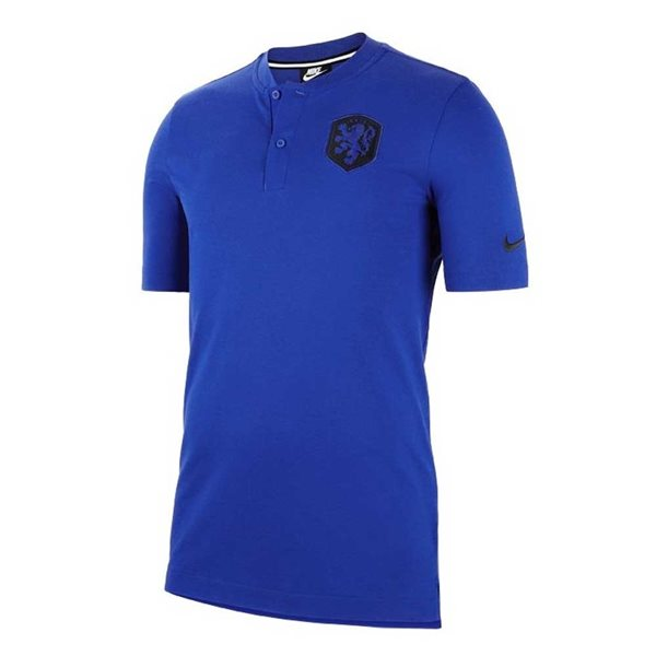 2020-2021 Holland Authentic Polo Shirt (Blue)