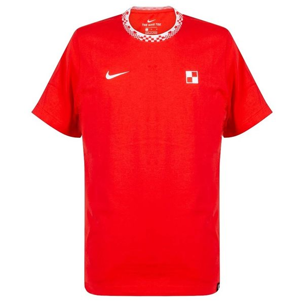 2020-2021 Croatia Travel Tee (Red)