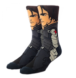Marvel Disney+ The Winter Soldier 360 Character Collection Crew Socks