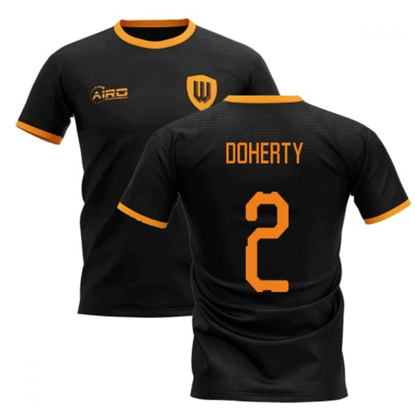 2020-2021 Wolverhampton Away Concept Football Shirt (DOHERTY 2)