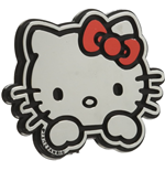 Hello Kitty Emblem Decal