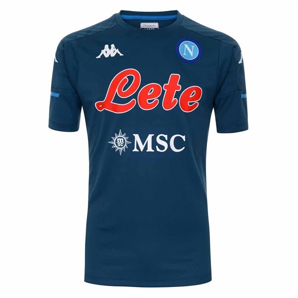 2020-2021 Napoli Training Shirt (Green Petrol)