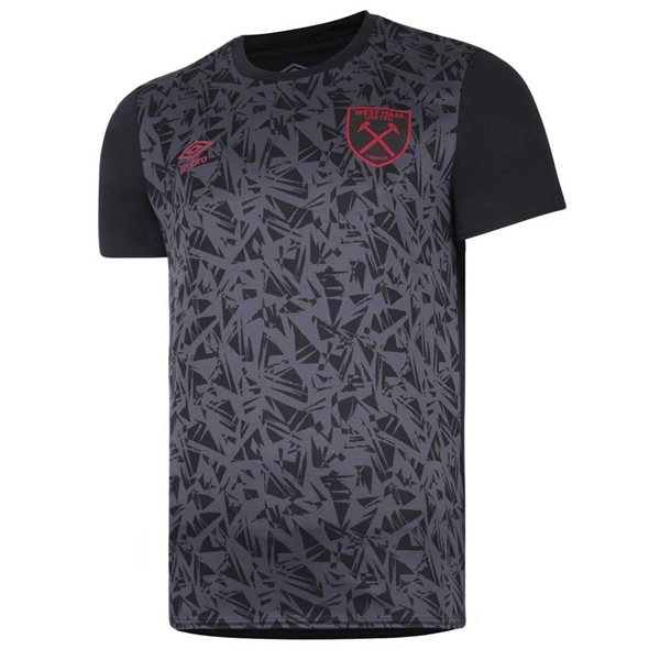 2020-2021 West Ham Warm Up Shirt (Black)