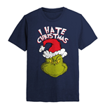 The Grinch T-Shirt I Hate Xmas (NAVY)