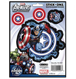 Captain America Action Car Decal