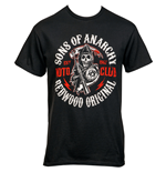 Sons of Anarchy Redwood Original Moto Club T-Shirt