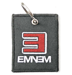 Eminem Keychain: Reversed E Logo (Double Sided Patch)