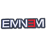 Eminem Standard Patch: Cut-Out Logo