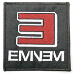 Eminem Standard Patch: Reversed E Logo