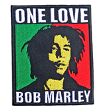 Bob Marley Standard Patch: One Love