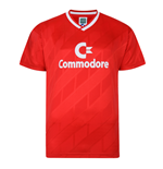 Score Draw Bayern Commodore 1986 Trikot Retro Football Shirt