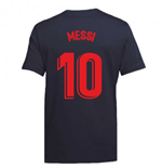 2020-2021 Barcelona Ground Tee (Obsidian) (MESSI 10)