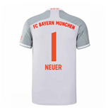 2020-2021 Bayern Munich Adidas Away Shirt (Kids) (NEUER 1)