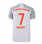 2020-2021 Bayern Munich Adidas Away Shirt (Kids) (GNABRY 7)