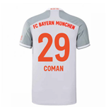 2020-2021 Bayern Munich Adidas Away Shirt (Kids) (COMAN 29)