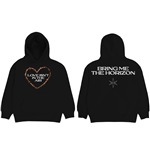 Bring Me The Horizon Unisex Pullover Hoodie: Love (Back Print)