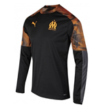 2019-2020 Marseille Rain Top (Black)