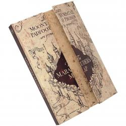 Harry Potter Magnetic Notebook Marauders Map