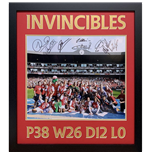Arsenal FC Invincible Season Signed Framed Print