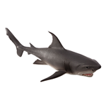 ANIMAL PLANET Sealife White Shark Large Toy Figure, Three Years and Above, Grey