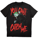 DC Comics Unisex Tee: Joker You Can't Catch Me