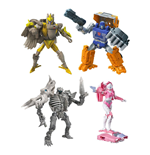 Transformers Generations War for Cybertron: Kingdom Action Figures Deluxe 2021 W2 Assortment (8)