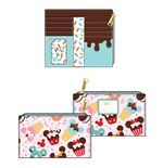 Disney by Loungefly Wallet Mickey and Minnie Sweets Ice Cream