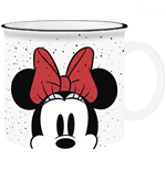 Disney Minnie Mouse Peeking 20oz Ceramic Camper Mug
