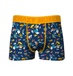 Crazy Boxers Donald Duck All Over Print Boxer Briefs