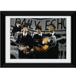 The Beatles Daily Echo Framed Photographic Print 8x6""