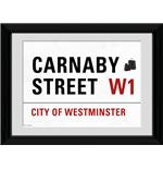 "London Carnaby Street Framed 16x12"" Photographic Print"