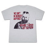 The Hangover 2 Dessert Memo Silver Graphic TShirt