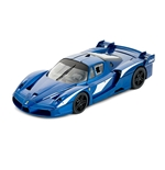Toy car model Ferrari Fxx Evo Blue Scuderia 1:18 Foundation